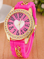 w&la mode montre-bracelet de diamant de femmes h