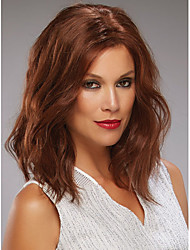 Syntheic Wigs Extensions Brown Charming  Wig And High Quality