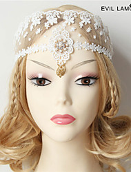 Lace Yarn Ball Princess Mask