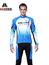 KINGBIKE Bike/Cycling Jersey / Tights / Jersey + Pants/Jersey+Tights / Clothing Sets/Suits Women's / Men's / Unisex Long Sleeve Breathable