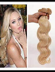 top 7a eau de Javel blond 613 extension de cheveux vierge vingin mongol cheveux raides mongol cheveu humain faisceaux de Hair Weave