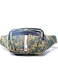 Для мужчин Полотно Спортивный / На каждый день Мобильный телефон сумка Зеленый / Коричневый / Черный