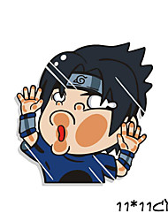 Funny Naruto Uchiha Sasuke Car Sticker Car Window Wall Decal Car Styling