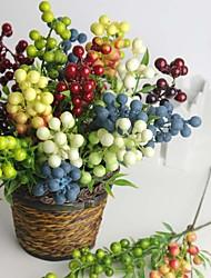 Mousse de polystyrène / Gel de silice Plantes Fleurs artificielles