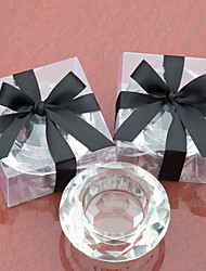Crystal Candle Holder Party Table Decor