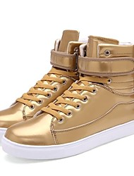 Men's Shoes Casual  Fashion Sneakers Black / White / Silver / Gold
