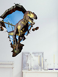 3D Wall Sticker Dinosaur Wall Stickers Art Decals
