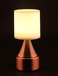 Edelstahl bar Lampe Club-Stand Desktop-Metallwiderstand zu fallen Lampe ABS LED-Licht l8 * h18.7cm 0,5 W