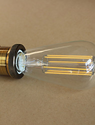 E27 4W ST64LED  Long Light Bulb Tungsten Bar Edison Retro Decorative Imitation