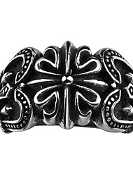 Ring Jewelry Stainless Steel Steel Fashion Black Jewelry Wedding Party Halloween Daily Casual Sports 1pc