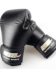 PU Kids Muay Thai Gloves Black Women Boxing Sanda Gloves Mitten