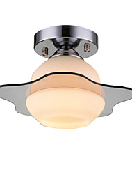 UMEI™ Modern Ceiling Light Flush Mount 1 Light E26 E27/Contemporary Bedroom / Hallway Metal