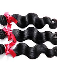 Brazilian Body Wave Hair Weaves Top Grade Virgin Human Hair Extensions #1B Hair Products Brazilian Body Human Hair 3Pcs