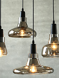 E27 24*11CM Line 1M Contracted And Contemporary Personality Shadow Fashion Decoration Glass Chandelier LED 1PC