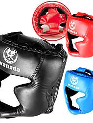 Material para Cabeça Exercicio e Fitness Sanda Boxe Treino de Força Treino Atlético Couro Ecológico