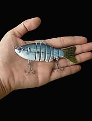 2016 New Hard Plastic Segmented Fishing Lures 4'' 10CM 15.2g Crankbait for Pike Muskie Fishing lure