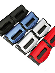voiture-style ceintures de sécurité réglables clips clips en plastique de support de bouchon pour les véhicules 2pcs