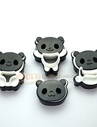 2016 New Cute Cartoon Animal 3D Baking DIY Biscuit Mold Panda Cookie Cutters and Stamps