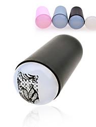 1pcs 3.2cm Professional Marshmallow Big Jumbo Nail Art Stamper Silicone Refill Nail Stamp Stamping Tools