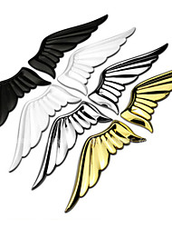 3D Alloy Metal Wings Of The Angel Wings Car Sticker Logo Decoration The Rear Of The Label Stickers Body Post