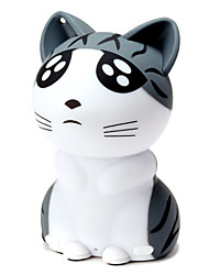 luz bluetooth m3 cambiar pobre gato forma de mini altavoces portátiles