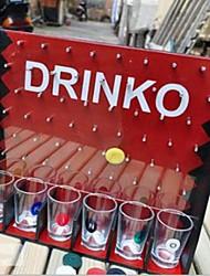 européen potable de la populaire série amusante chute match de la ronde bar à vin jouets
