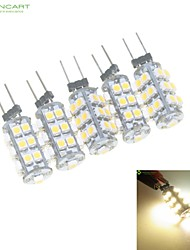 2W G4 Luces LED de Doble Pin MR11 25 SMD 3528 120-160 lm Blanco Cálido / Blanco Natural Regulable DC 12 / AC 12 V 5 piezas