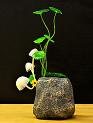 12*12*16CM Christmas Mushroom Induction Lamp Seven Lights Creative Gifts Energy-Saving Plug Light LED Lamp