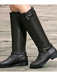 Women's Shoes Low Heel Riding Boots Boots Casual Brown