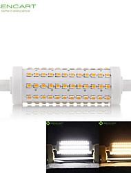 R7s 118mm 108 x 2835smd 15w lämmin valkoinen / viileä valkoinen 800lm 360 ° säde horisontaalinen pistoke valot himmennettävä tulva valo