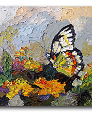 IARTS®Butterfly 3D Effect Handmade Knife Oil Painting