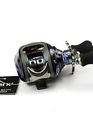 DMK SC120RE-X 13 Bearing Bait Casting Fishing Reel Gear Ratio 6.3:1 Max Drag 5kg Right Handle Centrifugal Brake