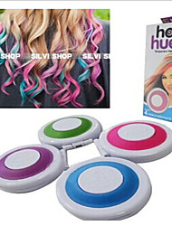 One-Time Hair Color Chalk Dye Powdery Cake Four Color Highlights Hairdressing Tools