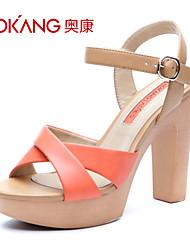Aokang® Women's Leatherette Sandals - 132825134