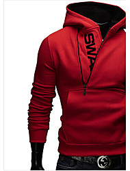 Others Men's Long Sleeve Sport Tops Breathable / Limits Bacteria / Wicking Red / Gray / Dark Gray / Light Gray /