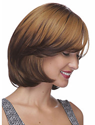 Bang Of  Bob Wig Sale To Eurepean  Syntheic  Hair Wigs Extesions Popular