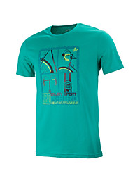 Men's Running Tops T-shirt Camping&Hiking/Fitness/Badminton/Football/RunningBreathable/Anatomic Design/Lightweight