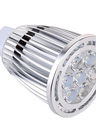 GU5.3(MR16) 9W 7x3030SMD 850 LM Warm White / Cool White MR16 Decorative Spot Lights AC 85-265 / AC 12 V