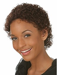 High Quality  European Women Lady Natural Color  Syntheic Wigs