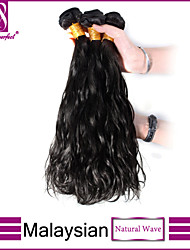 3pcs Malaysian Hair Bundles Weaves Natural Black NaturalWave Hair Weft 100% Unprocessed Malaysian Human Hair Weft