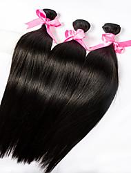 3pcs/lot 18inch Human Remy Hair Silk Straight Hair Weft Malaysian Virgin Hair Extensions 100% Human Hair Weaves