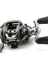 DMK DM120RA-C1 11 Bearing Bait Casting Fishing Reel Gear Ratio 6.3:1 Max Drag 5kg Right Handle Magnetic Brake