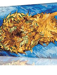 diy pintura a óleo quadro pintura digital divertimento família sozinha van Gogh - dois cortes de x5050 girassol