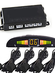 """Click to view larger imageDetails about  Car LED Display Parking Reverse Backup Radar w/4 Sensor"""