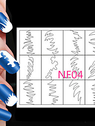 5X24PCS Different Sizes Professional Making Pattern Nail Art Tool