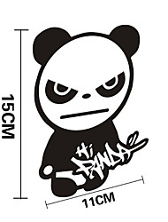 Funny Hi Panda Car Sticker Car Window Wall Decal Car Styling