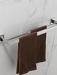 Sets d'accessoire de salle de bain - Contemporain - Miroir Poli - Fixation au Mur