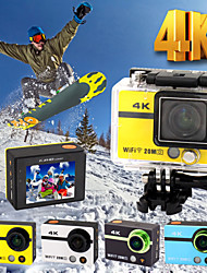 hd18plus 2 pollici action cam WiFi HD ultra 4k 20.0MP 1080p 170 gradi fotocamera videocamera dvr con telecomando