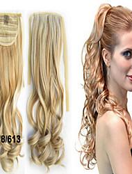 extensions de cheveux de prêle d'onde magnifique de style de charme