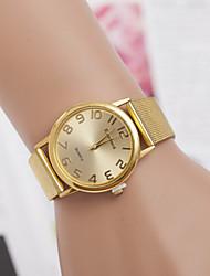 Women's Watch Men Alloy Diamond Gold Casual Wrist Watch Fashion Watch Cool Watches Unique Watches Strap Watch